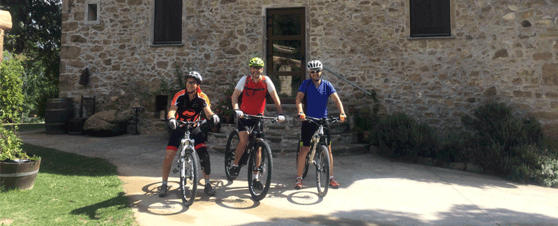 Mountain bike routes Garrotxa Mas Ombravella