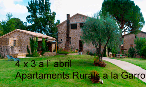 Offer April apartments rural farm Garrotxa