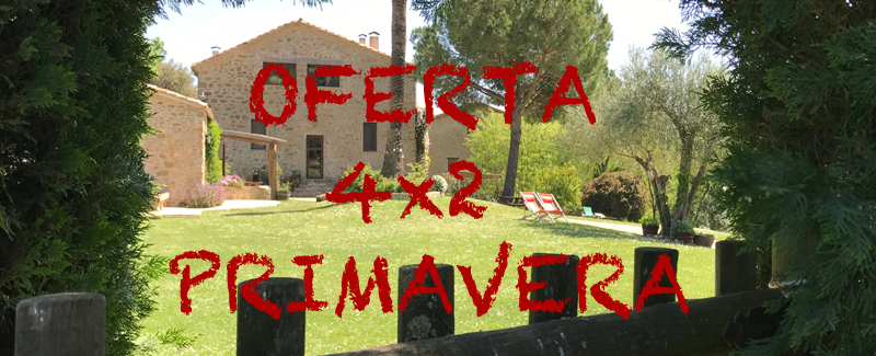 Spring Promotion 4×2 in the Garrotxa. Rural apartment in Mieres